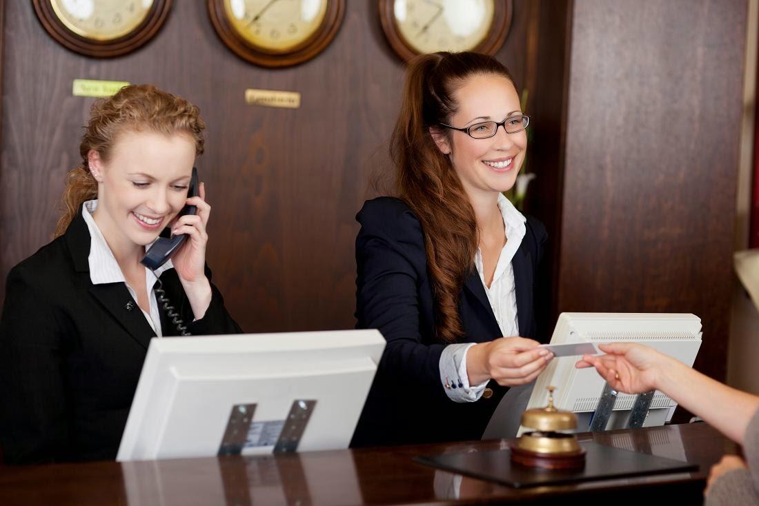 Recepção e Reservas em Hotéis