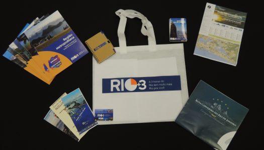 Setur-RJ/TurisRio lança novo material promocional para os turistas que procuram o nosso Estado