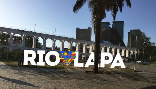 Mobiliário 'Rio Ama Lapa' será instalado ao lado dos Arcos da Lapa