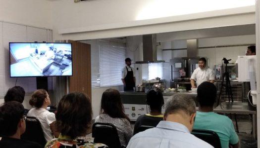 Oficina culinária do projeto Gosto da Amazônia recebe chef Nao Hara