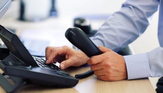 PROBLEMAS NA LINHA TELEFÔNICA