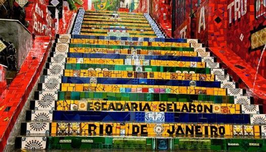 CAMPANHA PARA REVITALIZAR ESCADARIA SELARÓN CONTA COM PÓLO NOVO RIO ANTIGO, LIGA DE GUIAS E BNDES