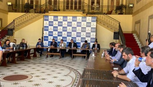 PRESIDENTE DO SINDRIO PARTICIPA DE REUNIÕES COM O GOVERNADOR E SECRETARIADO DO RIO DE JANEIRO